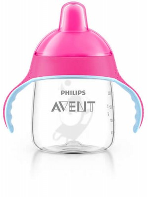 Philips AVENT - My Penguin Sippy Cup, Pink, 260ml, SCF753/07