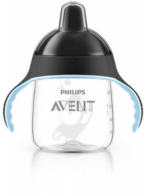 Philips AVENT - My Penguin Sippy Cup, Black, 260ml, SCF753/03