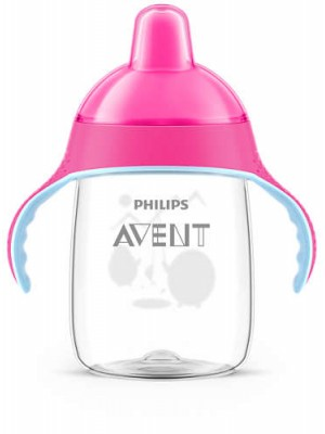 Philips AVENT - My Penguin Sippy Cup, Pink, 340ml, SCF755/07
