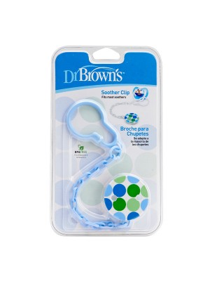 Dr Brown's  - Pacifier Clip blue, 037-ac