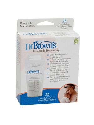 Dr Brown's  - Breastmilk Storage Bags 4005-gb, 25pcs
