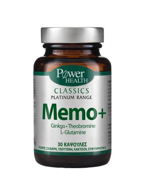 Power Health - Memo+,to remember, 30 capsules