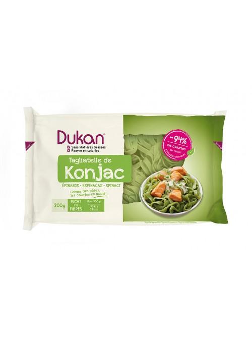 DUKAN - Tagliatelle de konjac,  Ταλιατέλες με σπανάκι, 200gr