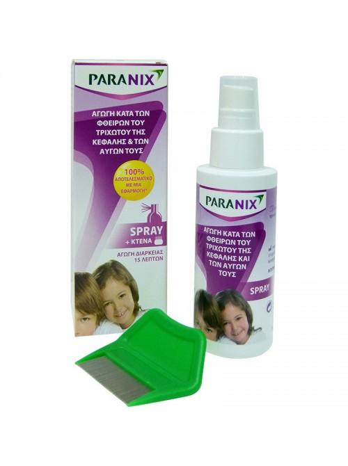 Omega Pharma - Paranix spray, αγωγή κατά των φθειρών και των αυγών τους, 100ml