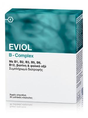 Gap - EVIOL B-Complex, σύμπλεγμα βιταμινών Β, 60κψλ