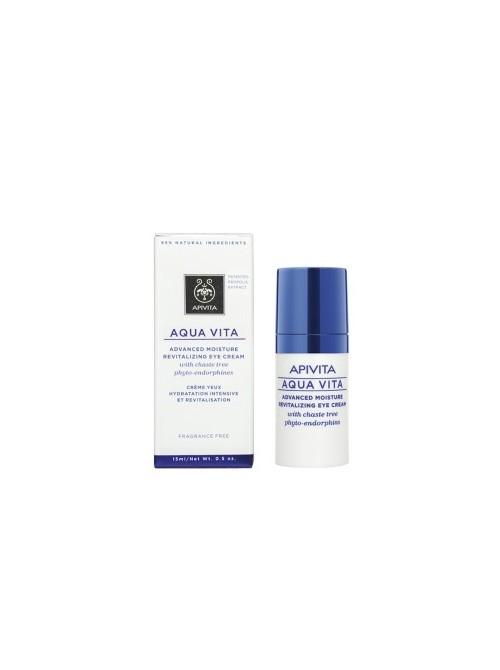 APIVITA -  AQUA VITA, Advanced Moisture Revitalizing Eye Cream, 15ml