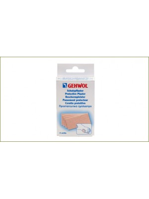 Gehwol - Gehwol Protective Plaster Thick, 4 pieces