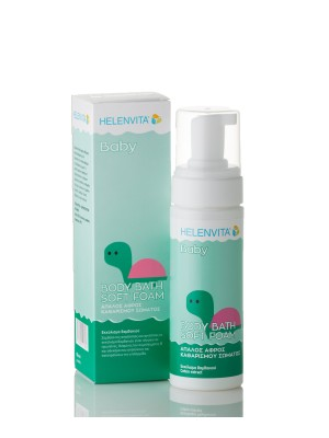 Helenvita - Baby soft foam, Mild body cleansing foam, 150ml