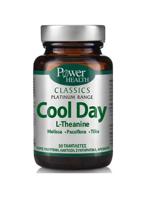Power Health - Classics – Cool Day, relief of anxiety, nervousness and fatigue, 30 tablets