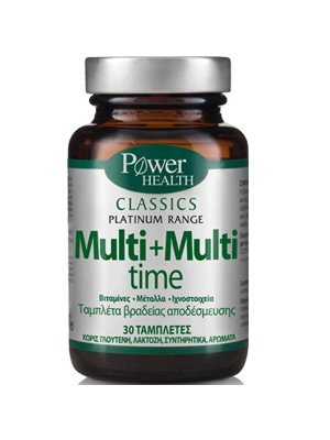 Power Health - Classics – Multi + Multi time, 30 tablets
