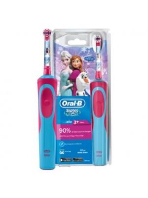 Oral-B - Vitality Kids, Παιδική Επαναφορτιζόμενη Οδοντόβουρτσα για κορίτσια frozen 3+