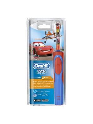 Oral-B - Vitality Kids, Παιδική Επαναφορτιζόμενη Οδοντόβουρτσα για αγόρια cars 3+, 1τμχ
