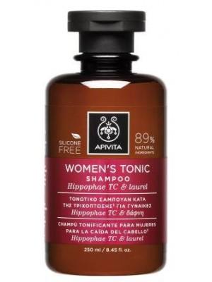 Apivita - Τονωτικό Σαμπουάν Κατά της Τριχόπτωσης για Γυναίκες με Ιπποφαές & Δάφνη, 250ml