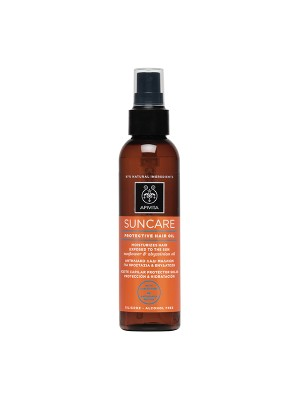Apivita - SUNCARE Protective Hair Oil with Sunflower & Abyssinian oil, 150ml