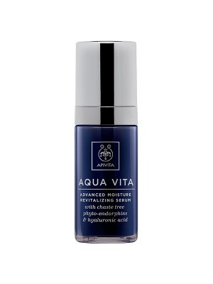 Apivita - AQUA VITA Intense Moisturizing and Revitalizing Serum with Chaste tree phyto-endorphins, 30ml