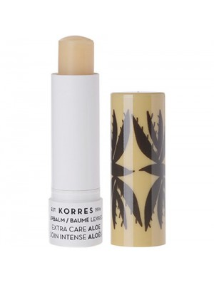 Korres -  Lip Balm Extra Care Aloe for dry  & chapped lips, 5ml