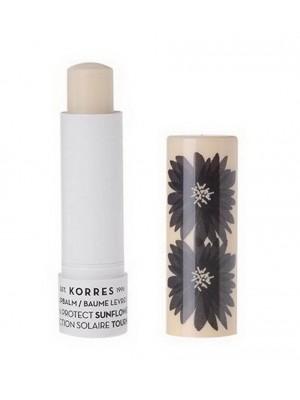 Korres - Lip Balm Sun Protect Sunflower Spf 20, 5ml