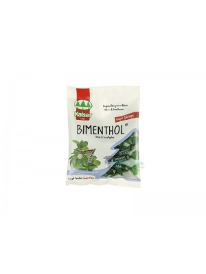 kaiser - sore throat lozenges  bimenthol with mint & eucalyptus, 60gr