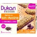 DUKAN - Chocolate Bars with Chia seeds