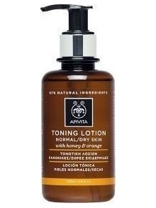 Apivita - Purifying Tonic Lotion for Normal/Dry Skin, with Orange & Honey, 200ml