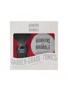 Hawkins & Brimble - Σετ με κρέμα ξυρίσματος & βούρτσα, 100ml