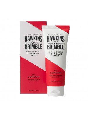 Hawkins & Brimble - post shave balm with elemi & ginseng, 125ml