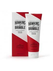 Hawkins & Brimble - scrub προσώπου με elemi & ginseng, 125ml