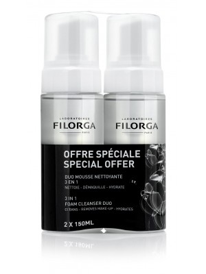 Filorga - Duo Mousse Demaquillante, Foam cleanser, 2x150ml