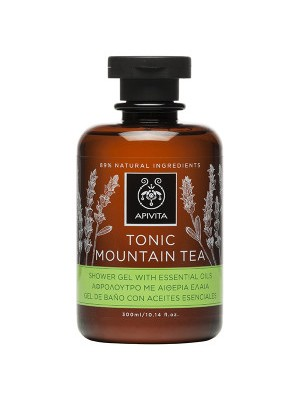Apivita - TONIC MOUNTAIN TEA Shower Gel with Essential Oils with Mountain Tea, 300ml