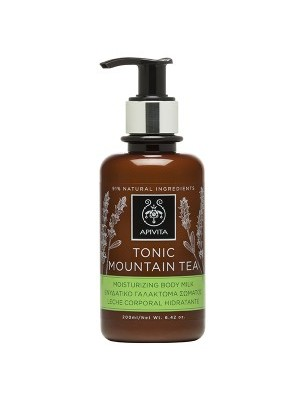Apivita - TONIC MOUNTAIN TEA Moisturizing Body Milk with Mountain Tea, 200ml