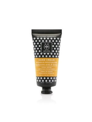 Apivita - HAND CARE Intensive Moisturizing Hand Cream with Rich Texture with Hyaluronic Acid & Honey, 50ml