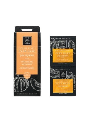 Apivita - EXPRESS BEAUTY Detox face mask with pumpkin with Pumpkin, 2x8ml