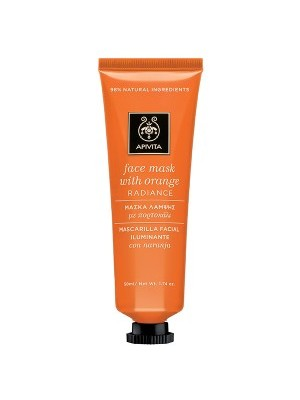 Apivita - FACE MASK Radiance Mask with Orange, 50ml