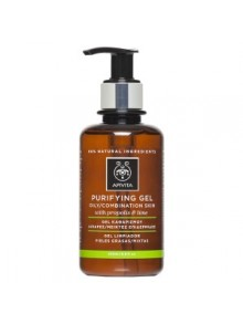 Apivita - CLEANSING Cleansing Gel for Oily/Combination Skin with Propolis & Citrus (Lime), 200ml