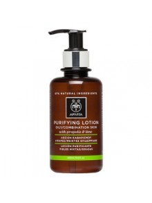 Apivita - CLEANSING Purifying Tonic Lotion for Oily/Combination Skin with Propolis & Citrus (Lime), 200ml