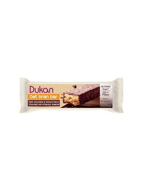 DUKAN - Gourmet Chocolate Coated Oat Bran Bars with Nougat Layer, 1 bar