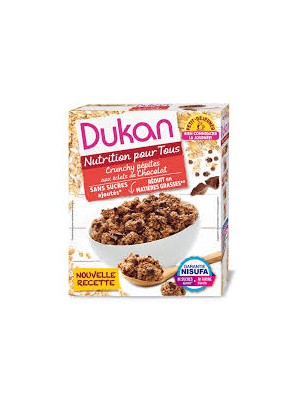 dukan - Oat bran clusters Chocolate Chips, 350gr