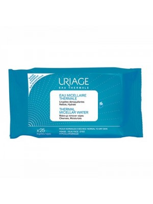 Uriage - Thermal Micellar Water Wipes , x25