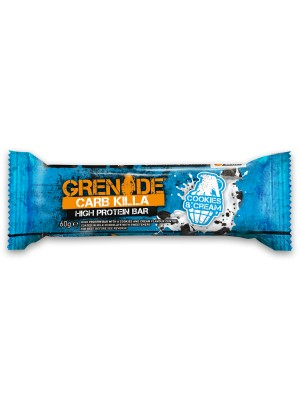 Grenade - Carb Killa High Protein Bar Cookies & Cream, 60gr