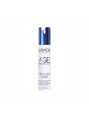 Uriage - Age Protect Multi-Action Detox Night Cream, 40ml