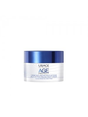 Uriage - Age Protect Multi-Action Peeling Night Cream, 50ml