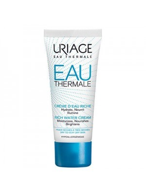 Uriage - Eau Thermale Creme Riche Rich Water Cream, 40ml