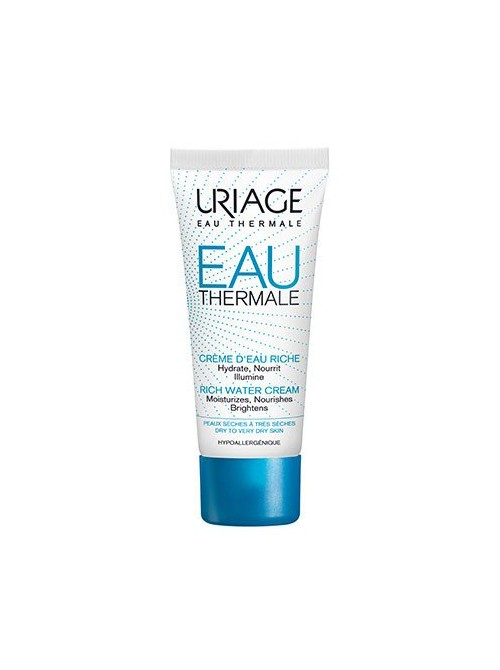 Uriage - Eau Thermale Creme Riche Rich Water Cream, 40ml