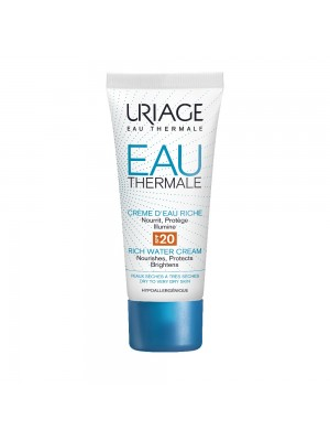 Uriage - Eau Thermale Creme D'Eau Riche SPF20, 40ml