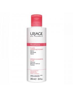 Uriage - Roseliane Fluide Dermo Nettoyant Cleansing Lotion, 250ml