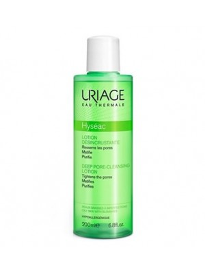 Uriage - Hyseac Lotion Desincrustante, 200ml