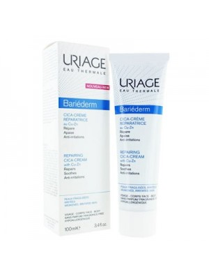 Uriage - Bariederm Cica-Creme Reparatrice Repair Cream, 100ml