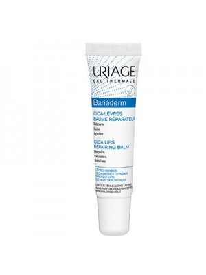 Uriage - Bariederm Cica-Levres Repair Lip Balm, 15ml