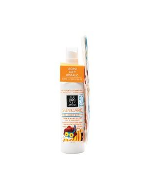 Apivita - Kids Protection Face and Body Spray SPF50 + GIFT Kids UV bracelet, 150ml