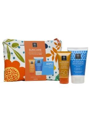 Apivita - Anti-Spot Face Cream SPF 50, 50ml + After Sun Cooling Cream-Gel, 100ml